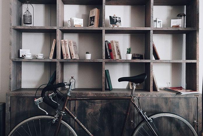 Rower może być ozdobą wnętrza