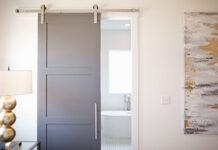 drzwi wewnętrzne do domu