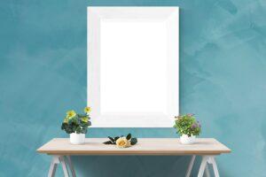 Plakaty dekoracyjne w aranżacji mieszkań